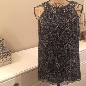 W by Worth sequin sleeveless top